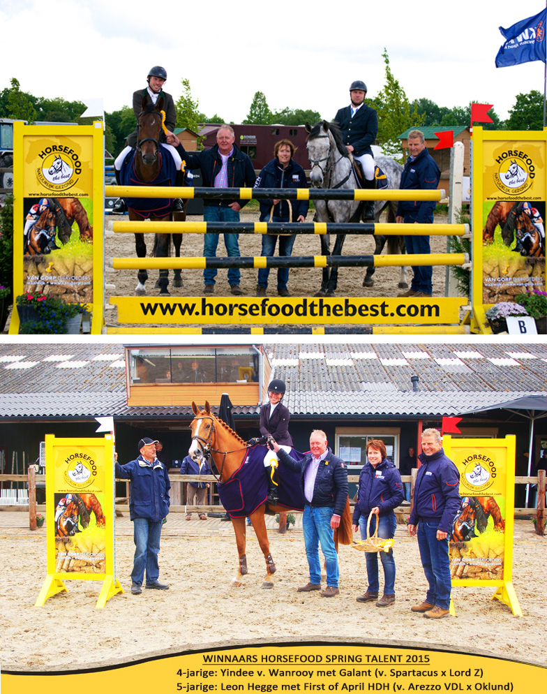 Winnaars Horsefood Spring Talent 2015